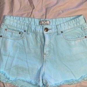 Free People High waist shorts